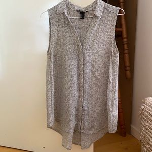 H&M speckled tank